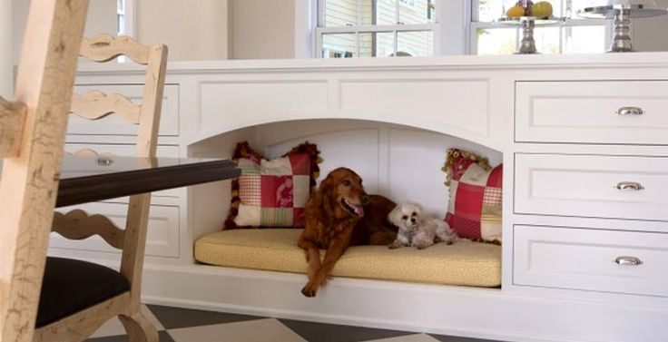 Built-in Doggy Beds