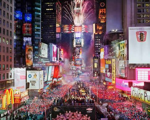 NYC, my love. Possibly next year for New Year's Eve?