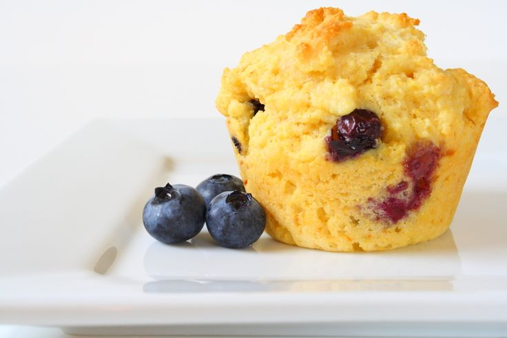 blueberry corn muffins | Breakfast | Pinterest