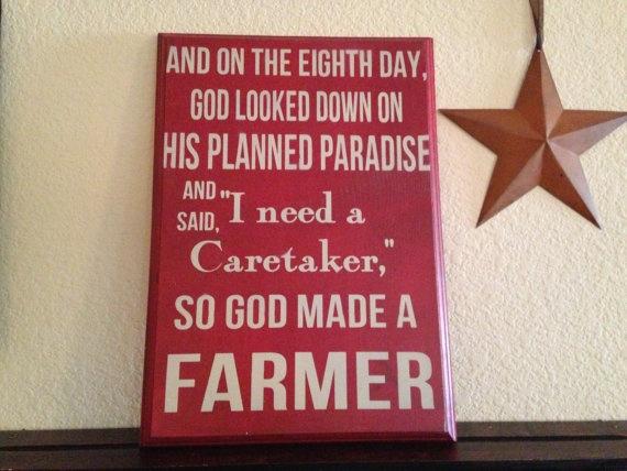 Paul Harvey God Made a Farmer