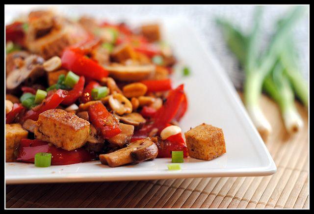 SRC: Kung Pao Tofu | Veggie Tales | Pinterest