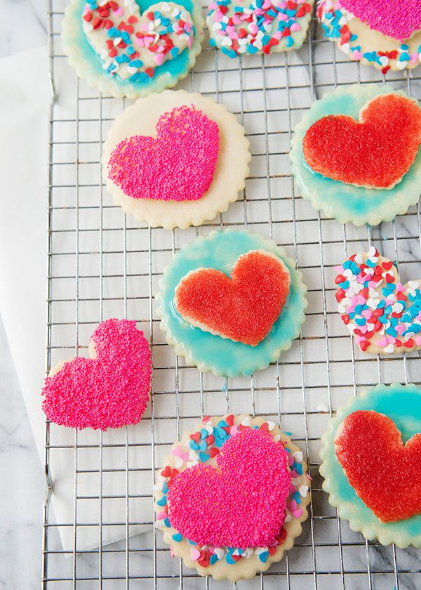 double heart cookies recipe
