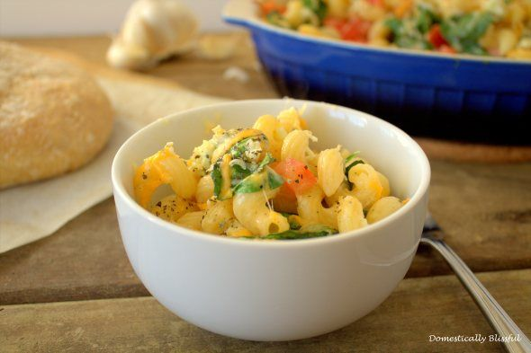 Fancy Vegetable Macaroni and Cheese | Mac and Cheese Me Please | Pint ...