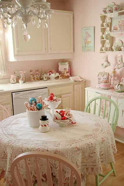 DIY Sweet Shabby Kitchen Makeover DIY SHABBY CHIC