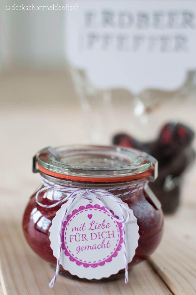 Spicy Strawberry Chutney | Food | Pinterest