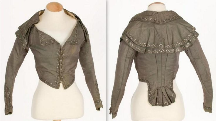 1780-1790    jacket held in KCI