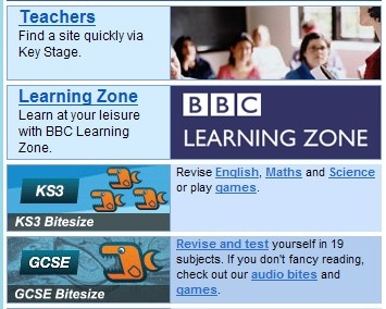 bbc adult learn zone