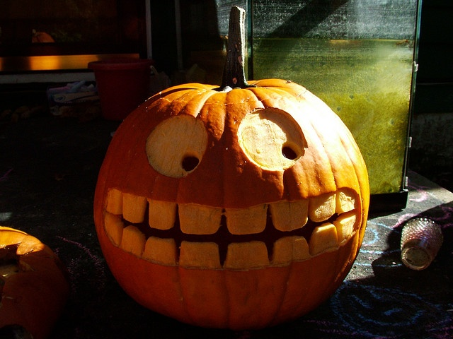 Funny pumpkin halloween pinterest Halloween pumpkin decorations