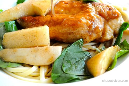 Chicken in Pear Sauce | Amazeballs! Next time I won't use even 1/4 of ...