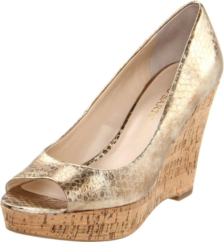 gold wedge wedding shoes search wedding ideas