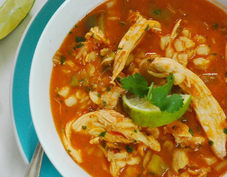 Mexican Chicken Lime Soup | Paleo/Candida | Pinterest