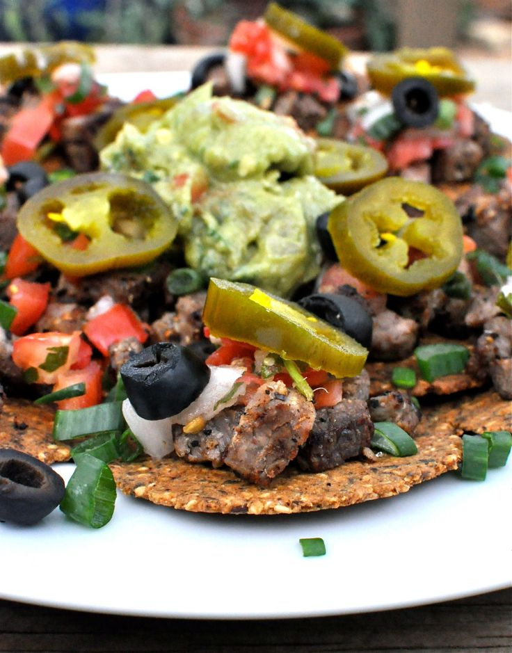 Paleo Beef Fajita Nachos | Fed and Fit skip the chips for Whole 30 and ...