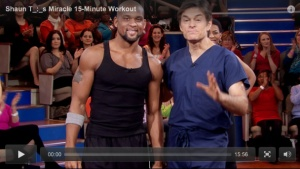 Shaun T's Miracle 15-Minute Insanity Workout