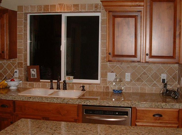 Kitchen Backsplash Designs Travertine Kitchen Ideas Pinterest