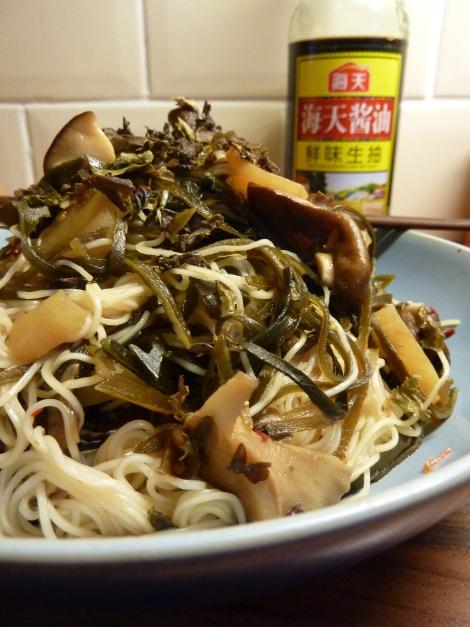 Shiitake, Sesame and Kelp Noodles | Recipes | Pinterest