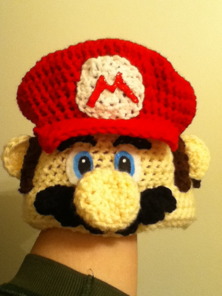 Super Mario Crochet Hat Patterns Patterns Kid