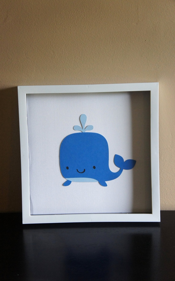Whale Wall Art Nursery Decor Baby Pinterest