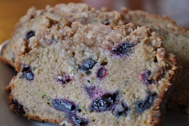 Blueberry Zucchini Bread | Breads | Pinterest