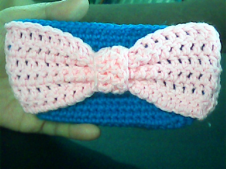Crochet Ribbon Purse-Free Pattern Crochet Headbands & Hair Accessor ...