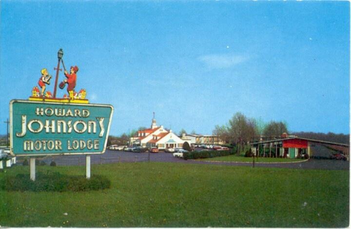 The Howard Johnson 39 S Motor Lodge Vintage Travel Memories