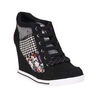 Babycham Lucia Wedge Womens Trainers - USC