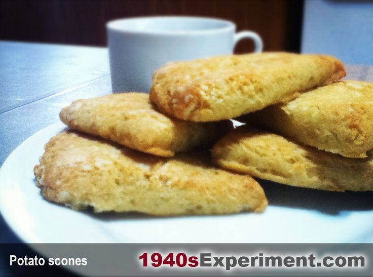 Potato scones – these were so delicious and perfect to serve with ...