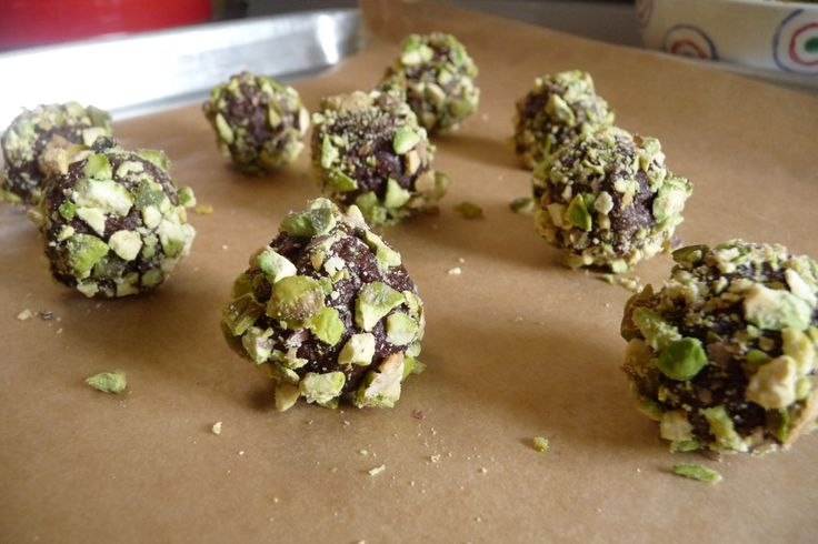 More like this: pistachios , truffles and oranges .