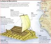 04 – Una mañana apareció ante su vista una extraña embarcación – una balsa de maderos – provista de velas y en la cierta suposición de tener delante a una nave del Imperio Inca, el capitán Bartolomé Ruiz dio la orden de abordaje.