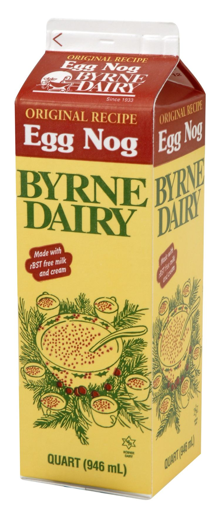 The Original Byrne Dairy Egg Nog... is there anything better?