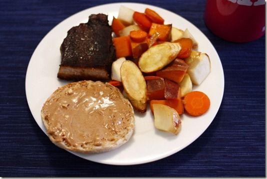 Honey roasted root vegetables   FOod for mE   Pinterest