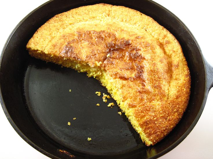 Southern Corn Bread. Can be made with yellow corn meal, but my mother ...