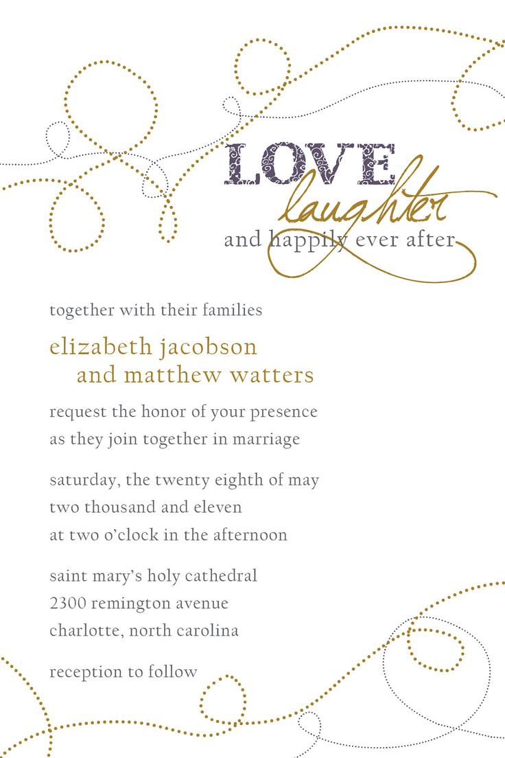Wedding Invitation Wording Wedding Invitation Wording Happily Ever