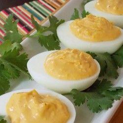 Chipotle Deviled Eggs | recipes | Pinterest