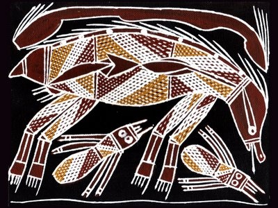 aboriginal xray art Painting by James Yulidjirri | 400 x 300 · 80 kB · jpeg