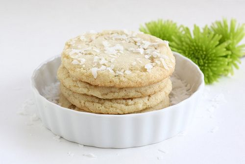 Cocunut Lime Cookies