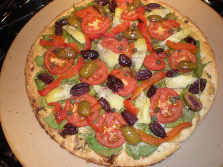 Hummus Pizza | Food Love | Pinterest