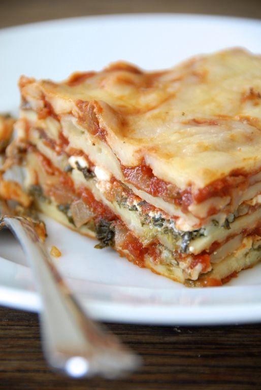 Gluten Free Vegetable Lasagna | Gluten Free and/or other Allergens ...