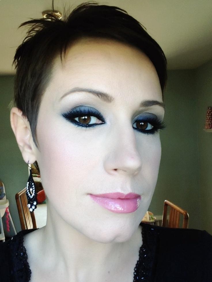 All black eye look : My Makeup Looks : Pinterest