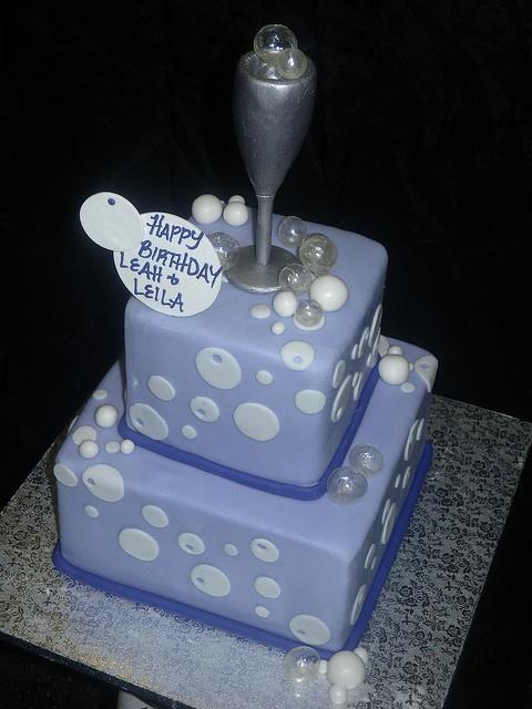 Bubbly Cake by Alliance Bakery, via Flickr
