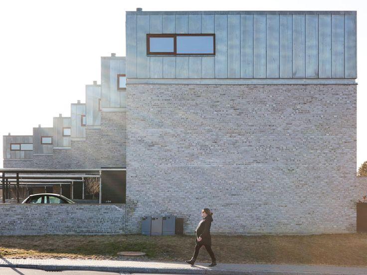 Danish semi-detached villas. Slotshusene by Arkitema Architects. #allgoodthings #danish #architecture spotted by @missdesignsays