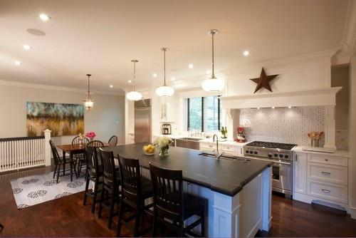 kitchen island new house pinterest