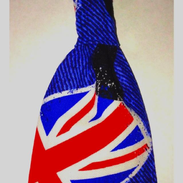 british flag tie