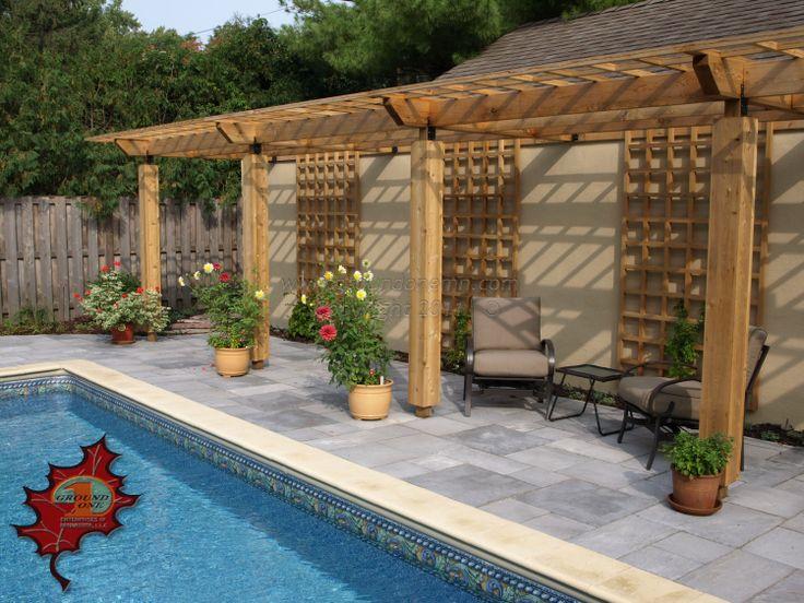 Beautiful Backyard With Pool Backyard Pools Pinterest