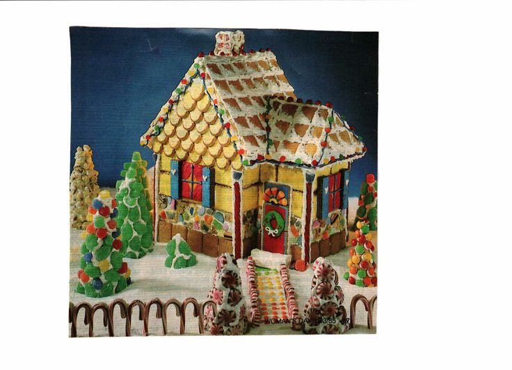 Gingerbread house | Deck the Halls | Pinterest