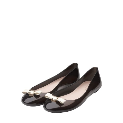 LILLI Ballerina Onyx Shoes - Furla - United Kingdom