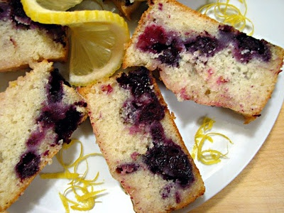 A+. Lemon-blueberry mini loaves. I substituted buttermilk for the milk ...