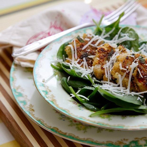 Lemon, Olive, And Parsley Quinoa Cakes | Favourite Recipes | Pinterest