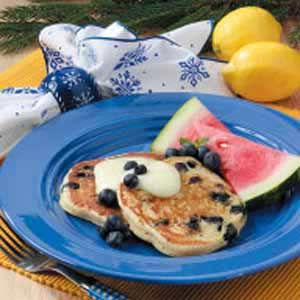 Lemon Blueberry Pancakes | Recipe