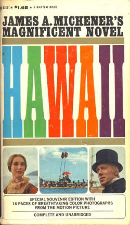 a summary of the novel hawaii by james a michener Review   hawaii, james a michener  michener makes history read like a novel  book hawaii history islands james michener long books nonfiction ocean review.