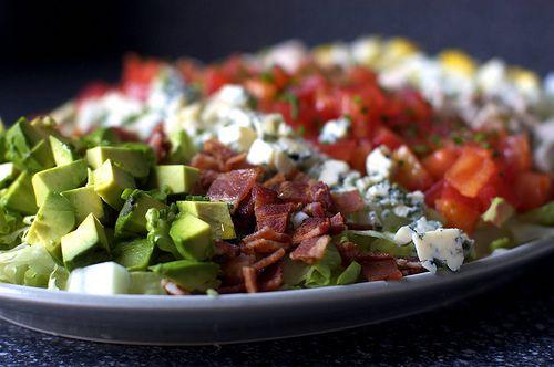classic cobb salad | Salad Crazy | Pinterest